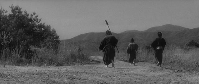 Hideo Gosha's 'Three Outlaw Samurai' (1964)