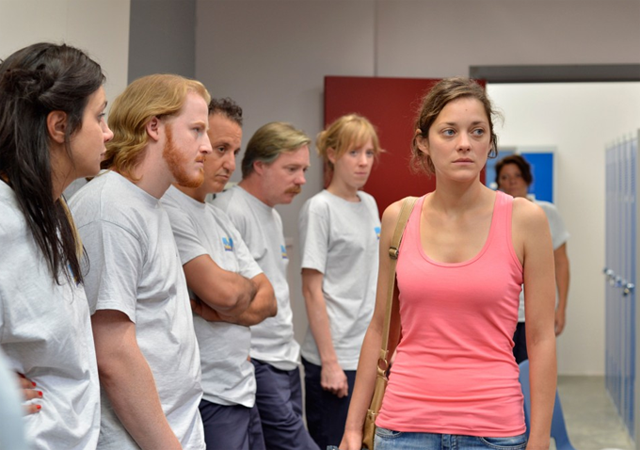 Marion Cotillard in the new Dardenne Brothers'.