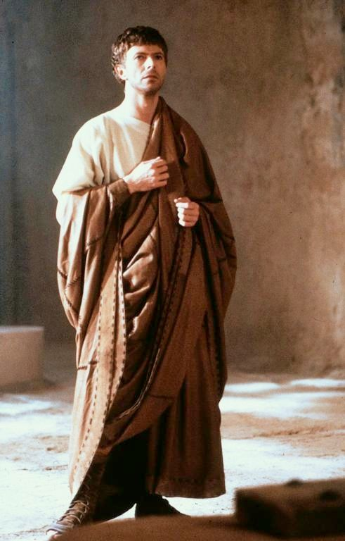 David Bowie as Pontius Pilate in The Last Temptation of Christ, which features Lazarus in a key scene)