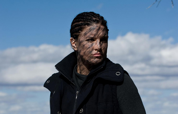 War-paint: Gina Carano in Haywire (2011)